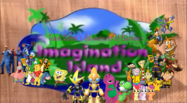 Team Robot's Adventures of Barney's Imagination Island Poster