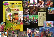 Barney's Adventures of Wee Singdom The Land of Music and Fun