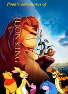 Pooh's adventures of The Lion King Poster 2