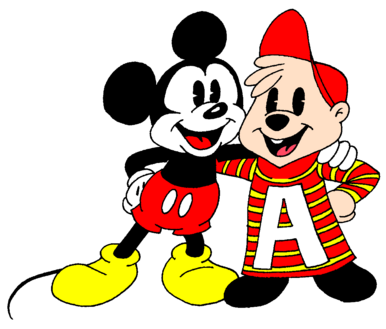 1930's Mickey and Alvin
