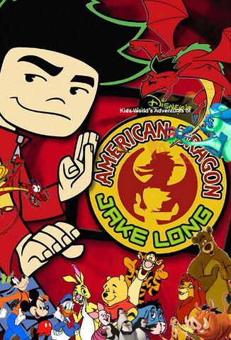 Kids World's Adventures of American Dragon- Jake Long