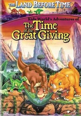 Kids World's Adventures of The Land Before Time 3- The Time of the Great Giving