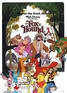 Winnie the Pooh meets The Fox and the Hound Poster