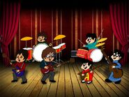 The 60 s 90 s chipmunk beatles color by peacekeeperj3low-d7ump5w