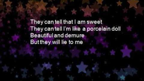 Porcelain Doll by Megan Mccauley w Lyrics