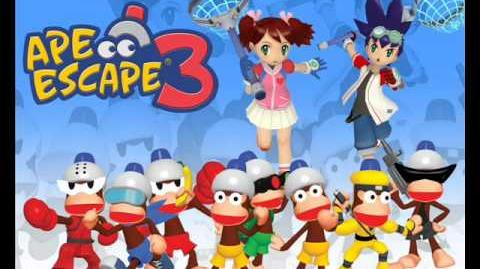 Ape Escape 3 OST - Kung-Fu Alley (Part 1)