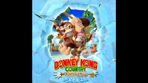 Donkey Kong Country Tropical Freeze Soundtrack - Temple II Feat. DK Island Swing