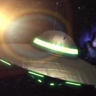 UFO w odcinku <i>Umcia, Umcia</i>.