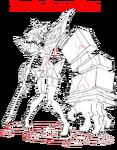 Senketsu Berserk Mode (Sketch)