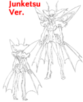 Ragyō Kiryūin body (Junketsu sketch)