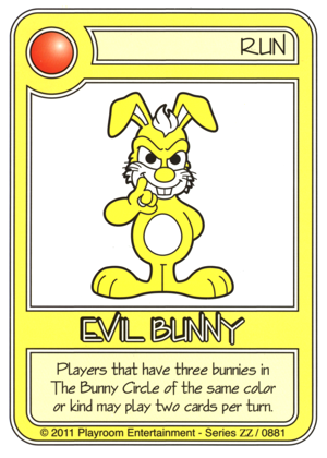 0881 Yellow Evil Bunny-thumbnail
