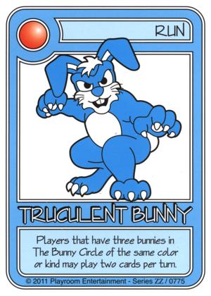 0775 Blue Truculent Bunny-thumbnail