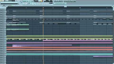 Killer Cuts - The Way U Move SeamlessR Remix - FL Studio 11 Playthrough