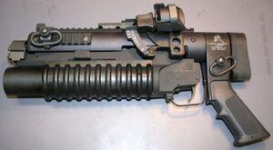 KAC standalon M203A1
