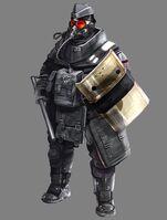 Psp helghast guardtrooper