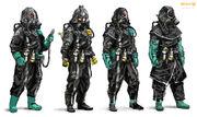 KILLZONE3 scientist concepts