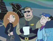 Officer Hobble on the job