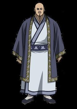 Kai Shi Bou Character Design anime S2