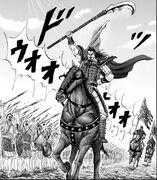Ou Ki 's horse