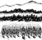 Yotanwa army 3000 warriors