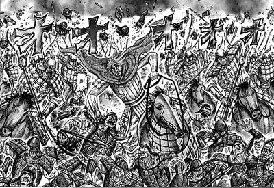 Man Goku Army Vs Duke Hyou Army
