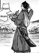 Geki Shin analyzing a battle