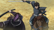 Ba Kan And Shin Confront anime S2
