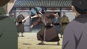 Ei Sei Hits A Kantan Resident With His Knees anime S2