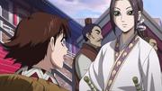 Kaine talking to Ten Anime S2