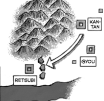 Location retsubi map
