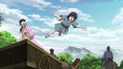 Young Ei Sei Jumps Off The Cart anime S2
