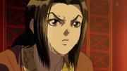 Ei Sei Cries Over Ou Ki's Death anime S1