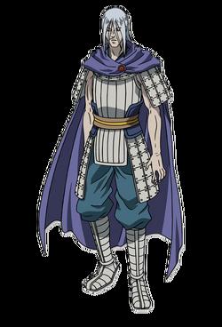 Man Goku Character Design anime S1