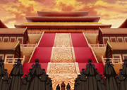 Three Great Families Of Qin With The Eunuchs Arrives In Front Of The Throne Room anime S2