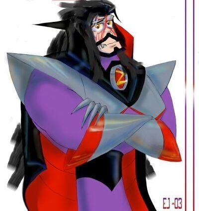 Emperor zurg with no helmet - Copy