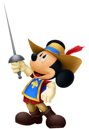 File:Mickey Mouse- Musketeer Outfit KH3D.png