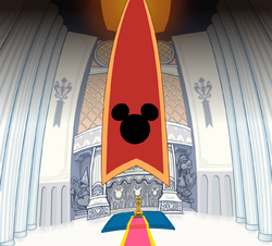 Disney Castle- Audience Chamber (Art) KH