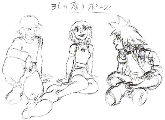 File:Kairi, Riku and Sora- Concept (Art) KH.png