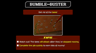 Bumble Buster Instructions KHII