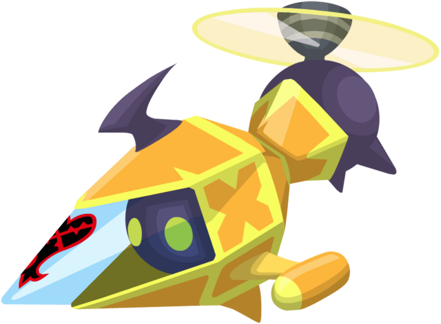 File:Yellow Gummi Copter KHX.png