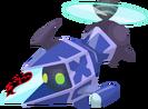 Blue Gummi Copter KHX