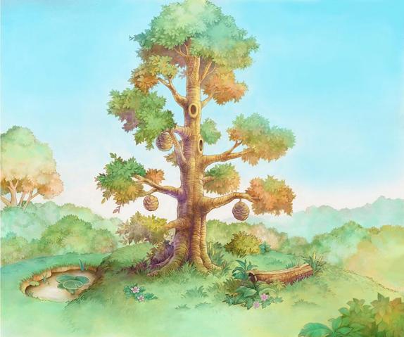 File:100 Acre Wood- Hunny Tree (Art) KH.png