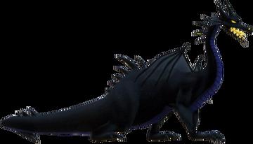 Maleficent- Dragon Form KH