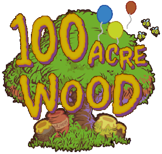100 Acre Wood Logo KHII