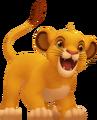 Young Simba KHII.png