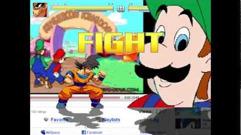 Hotel Mario & Hotel Luigi Vs Goku