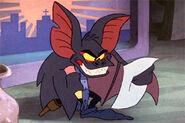 Fidget the peglegged bat