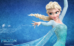 Frozen elsa-wide