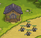Sylvan Elf Hall Warriors