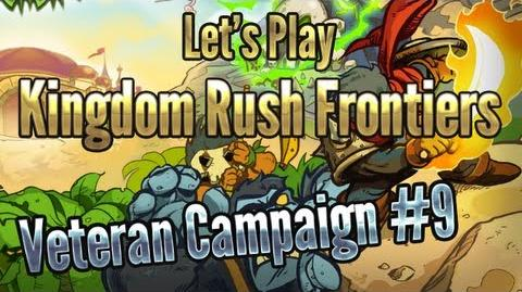 Kingdom Rush Frontiers - Lost Jungle (Level 9) - 3 Stars Veteran Campaign - iOS Game Walkthrough